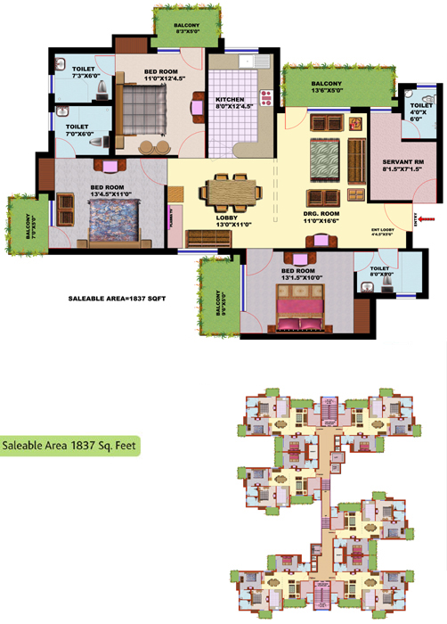 Srs Residency - Srs Residential Apartments